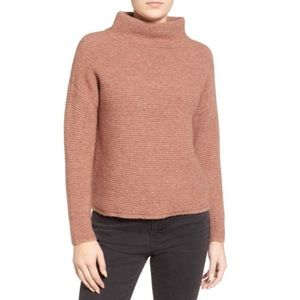 Madewell Southfield Mock Neck Sweater